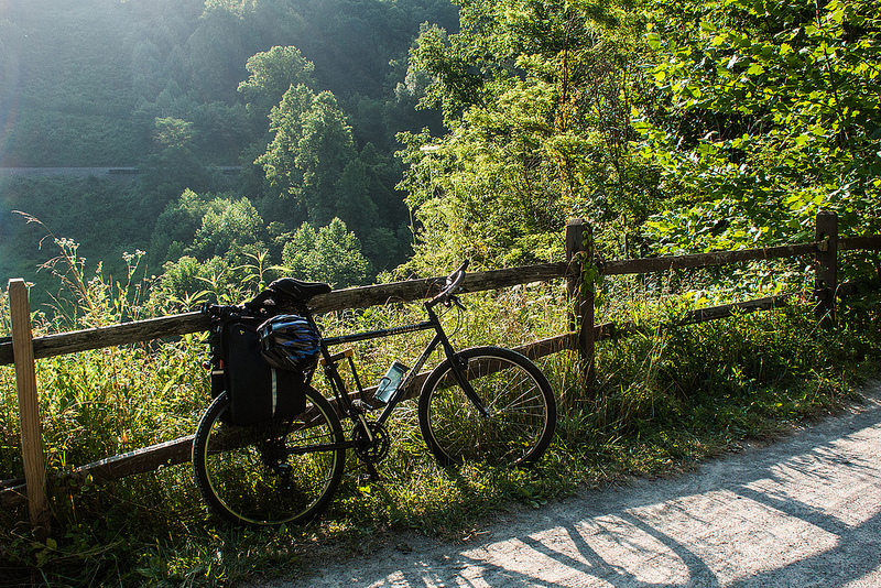 Biking Great Allegheny Passage | Dmitriy Babichenko Photography