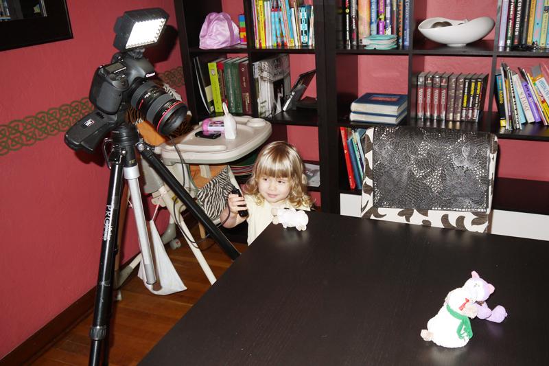 My little movie maker | Dmitriy Babichenko, Pittsburgh Photographer