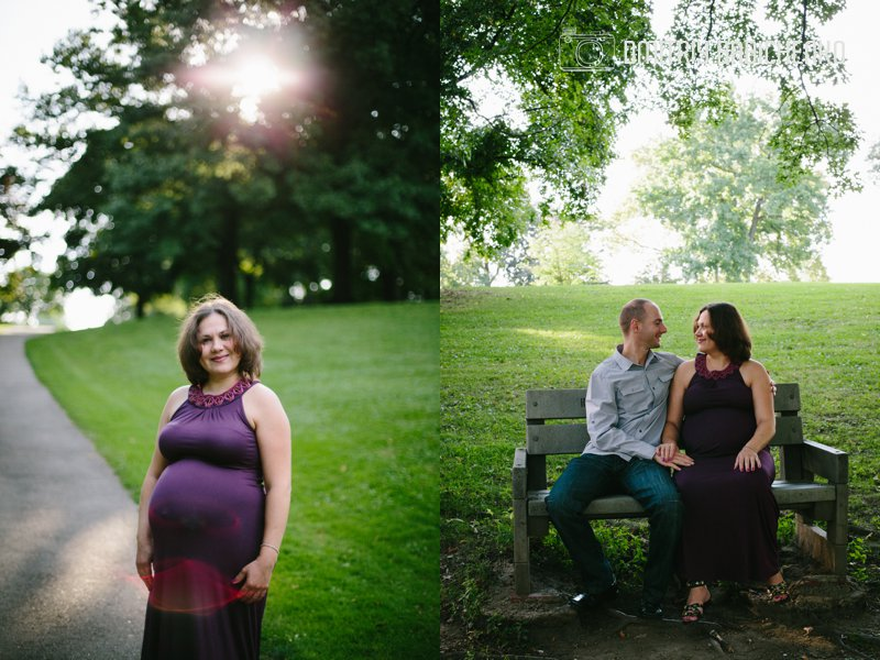 Pregnancy photo session | Mellon Park | Dmitriy Babichenko Photography