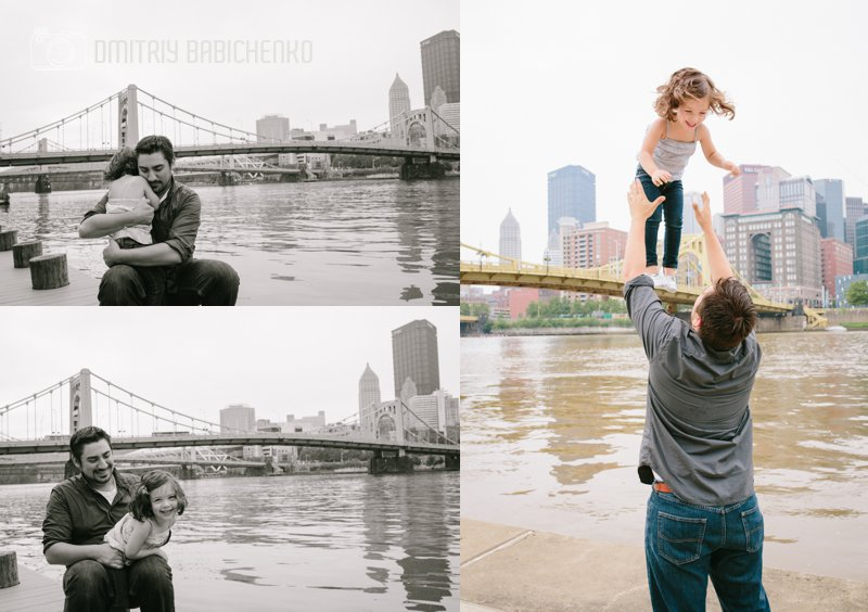 Michelle, Mike, Ava, Vinny Family Photoshoot | Dmitriy Babichenko | Pittsburgh Photographer
