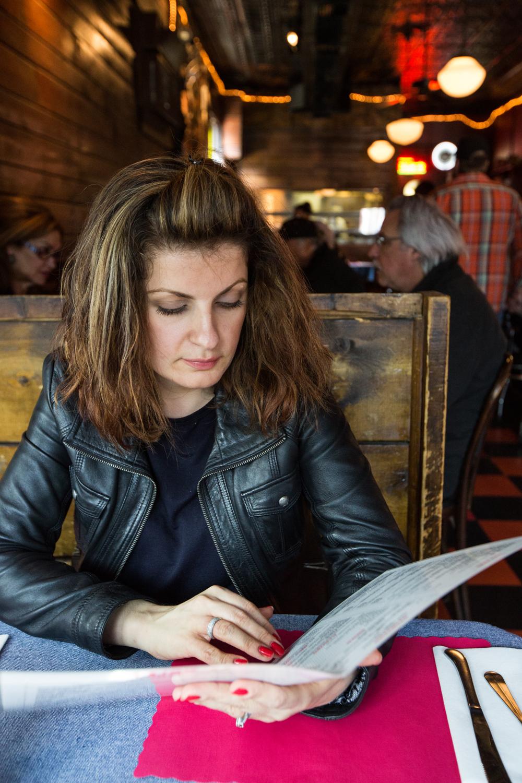 I love this snapshot of Irina