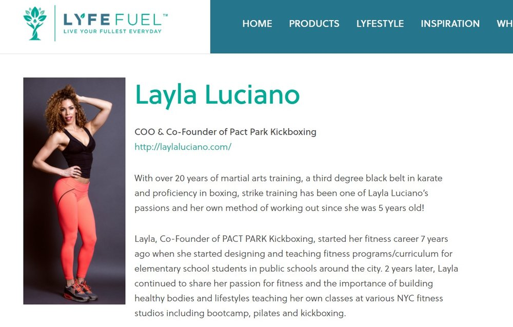 Lyfe Fuel Vegan Athlete Ambassador -