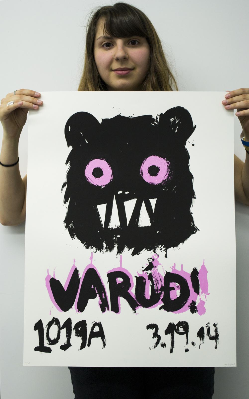 VARÚÐ Poster, 2014