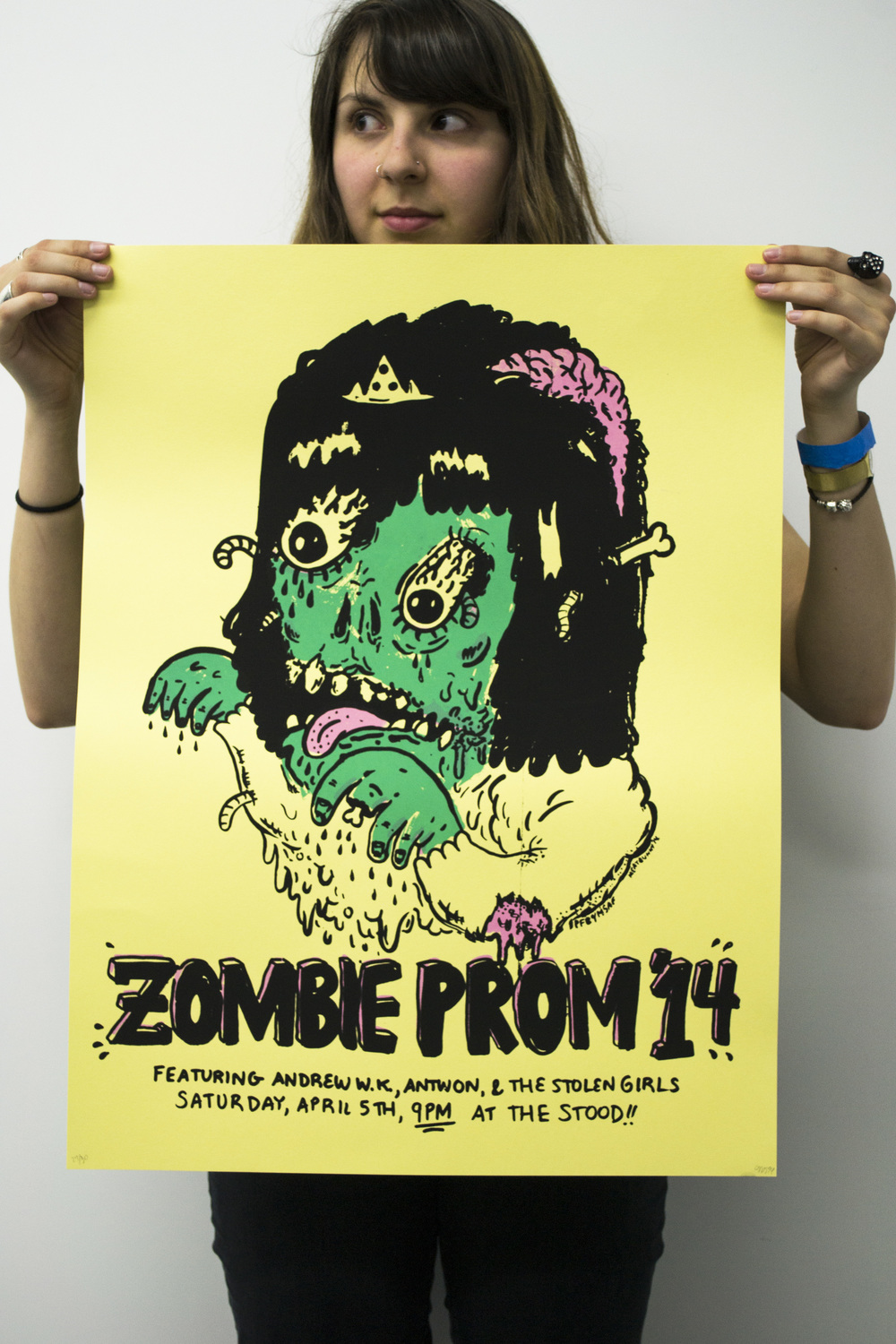Zombie Prom 2014 Poster