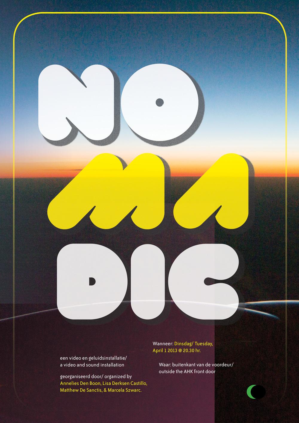 NOMADIC Poster, 2013