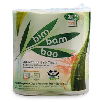 4 Roll Bim Bam Boo Toilet Paper