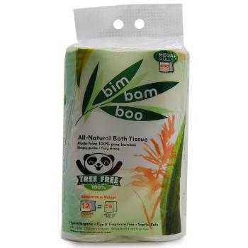 12 roll Bim Bam Boo Toilet Paper