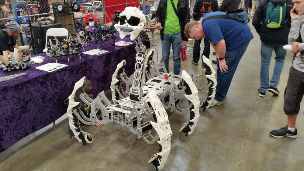 More, scarier robots!