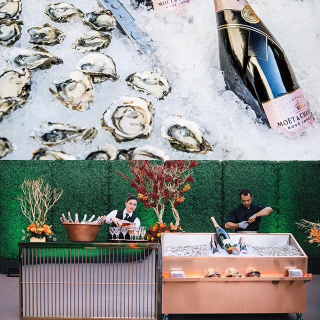 TBT to the beautiful oyster bar at #themacarthurreveal event. Thank you to our incredible in house catering team @qcateringusa #food was #delicious #fullspectrumphotography #204events #weddinginspiration #eventdesign #losangeleswedding #laweddingvenue #theknot #lawedding #bride #foodie #wedding #themacarthurla