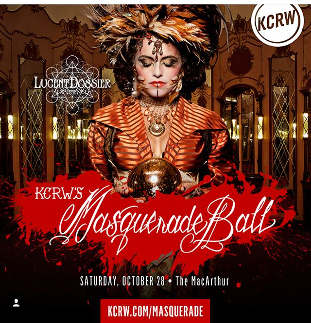 Tonight's the night!!! Are you all ready?! If you haven't gotten your tickets yet what are you waiting for time is of the essence! Link in @kcrw bio!! #kcrw #masquerade #kcrwmasqueradeball #halloween #halloween2017 #dtla #themacarthurla #losangeles #repost