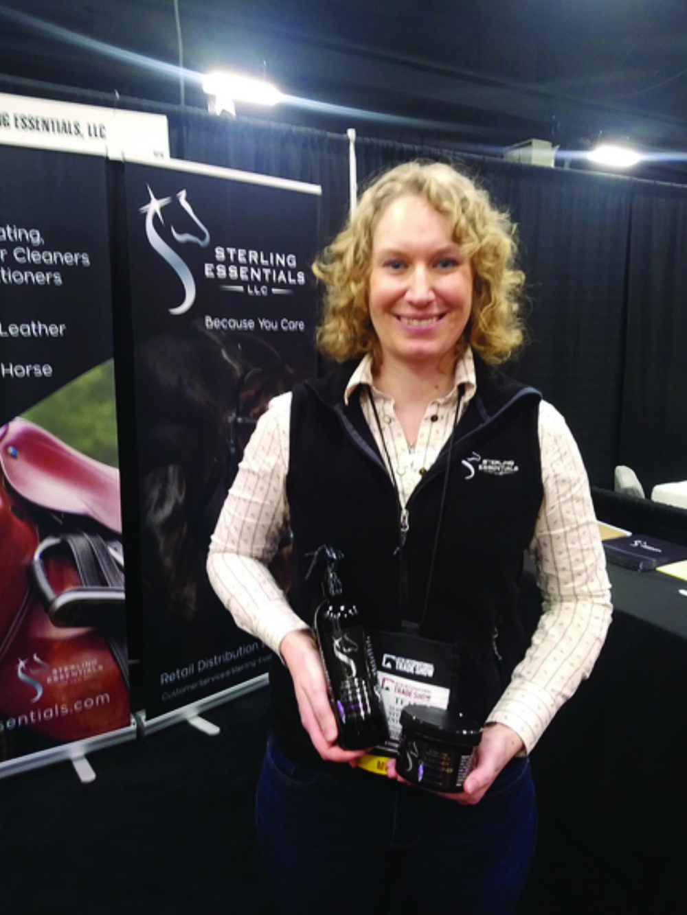 Sterling Essentials' CEO Teal Shoop, Photo Credit EIE