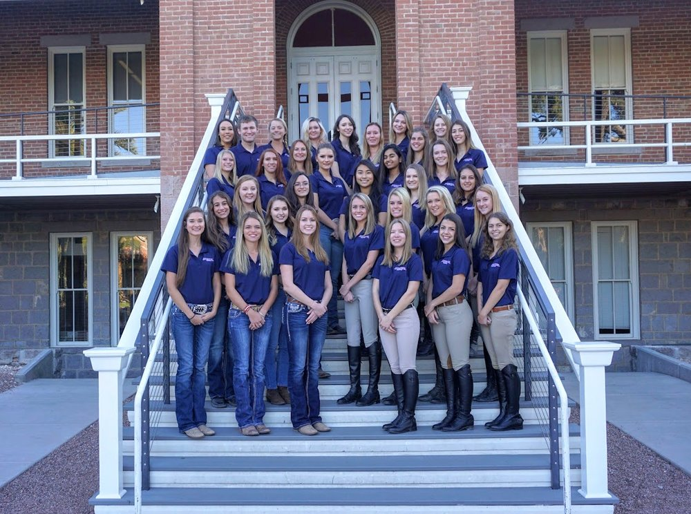 The University of Arizona Equestrian Team - University of ArizonaPC: U of Arizona Equestrian Team
