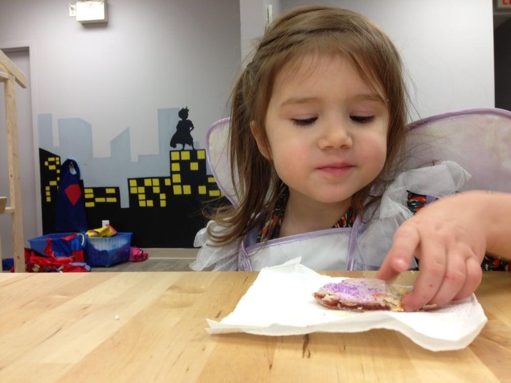 fresh baked treats, kids, mural, art