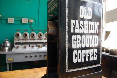 old fashion ground coffee
