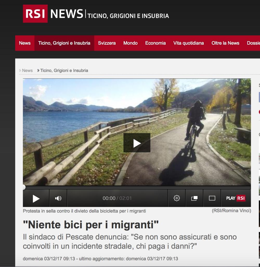 RSI - Radio Televisione Svizzera - December 2017