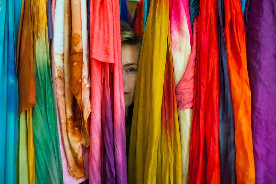 Nellie Rose in Under Dyed Silk