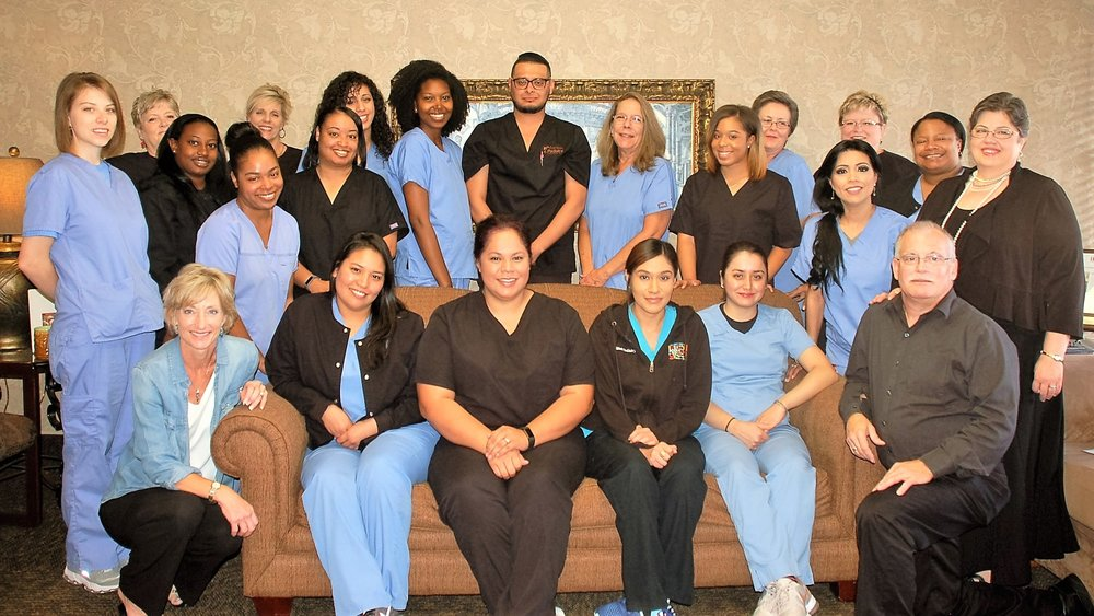 ashton podiatry office staff in dallas texas.jpg