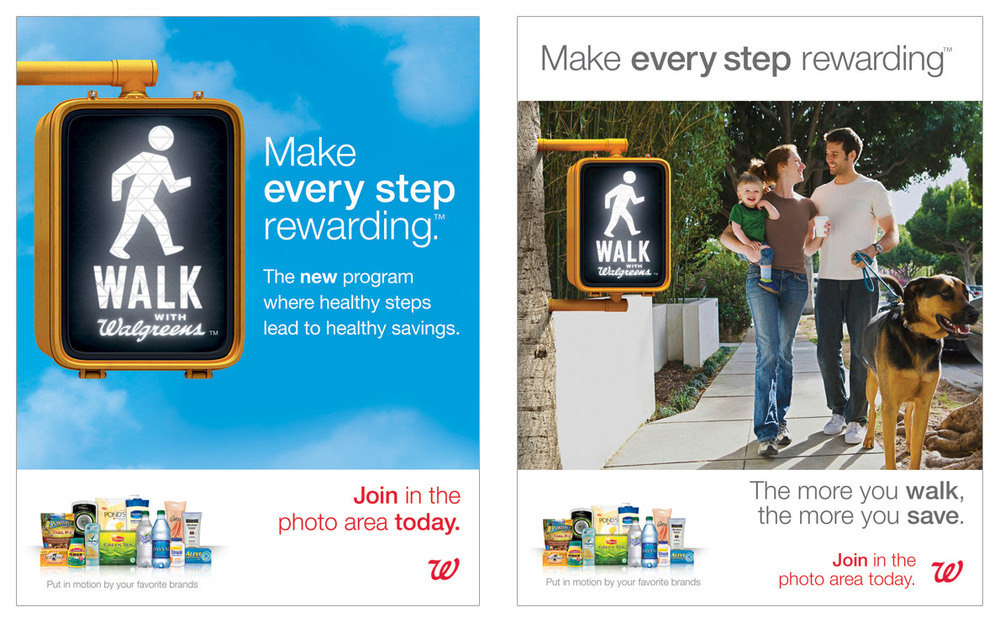Walk with Walgreens In-Store