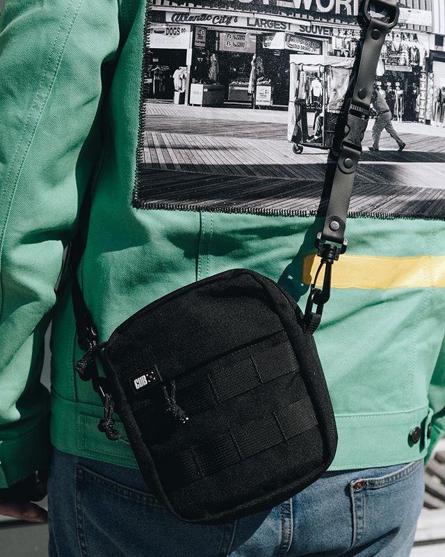 XQR Bag, on body with @mikobeach 💯