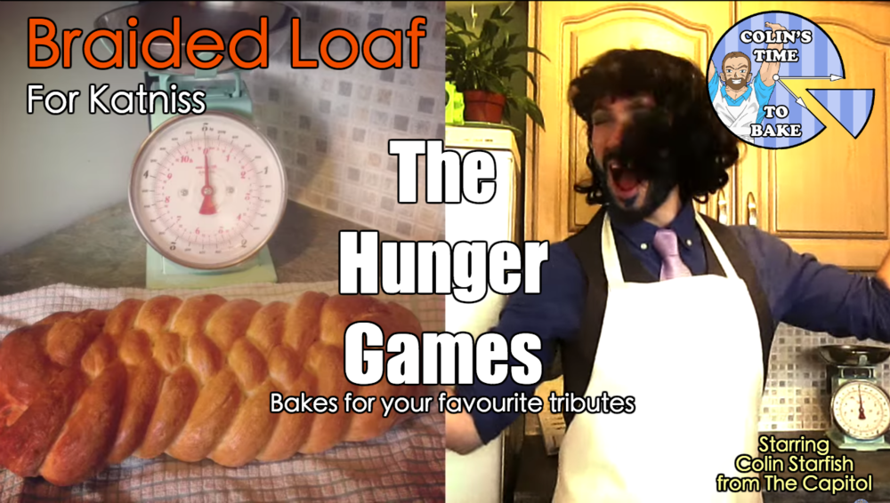 Hunger Games- Braided Loaf