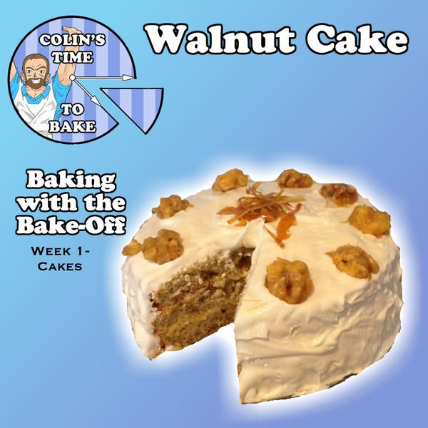 Week 1 | Cakes | Walnut Cake