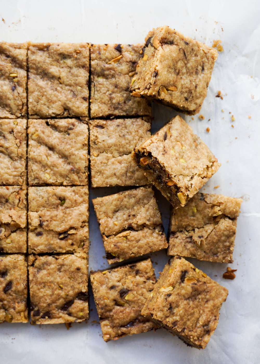 Oolong Tea Blondies