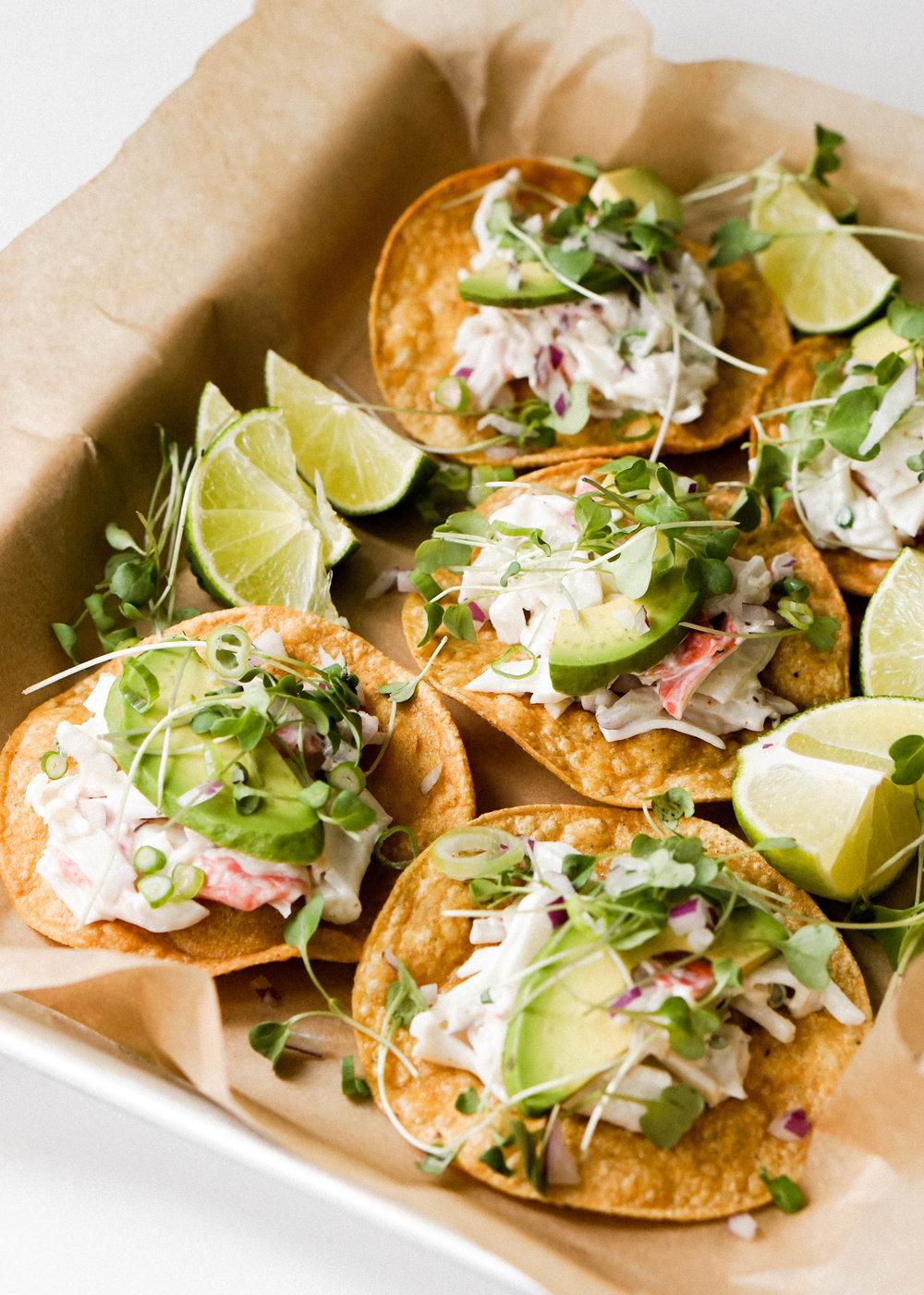 Crab Salad Tostadas