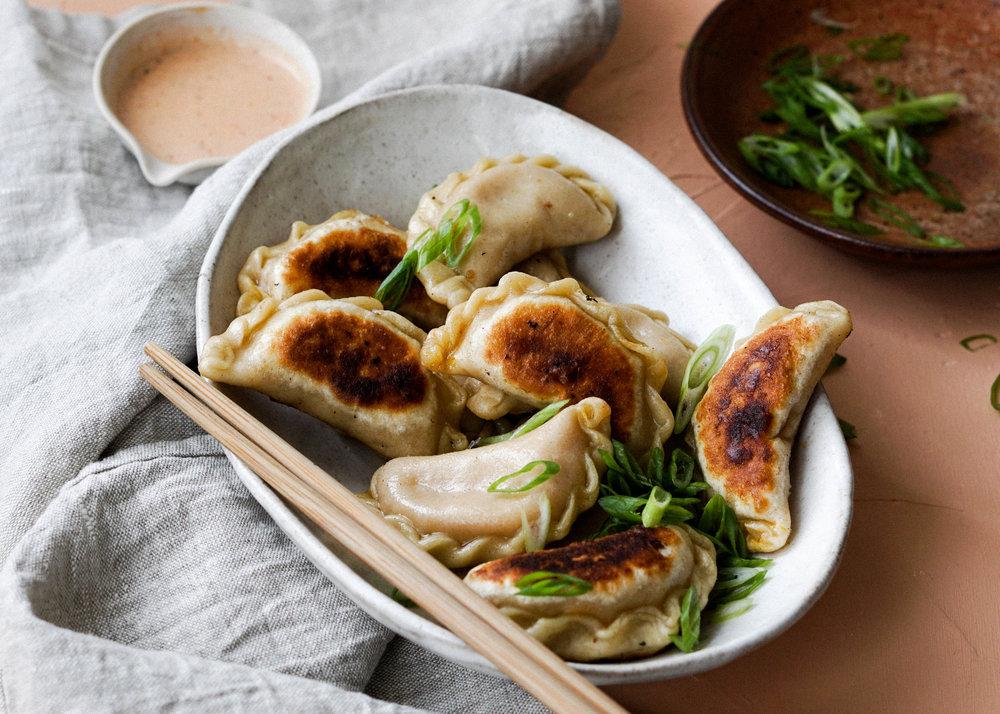 Pumpkin Curry Dumplings