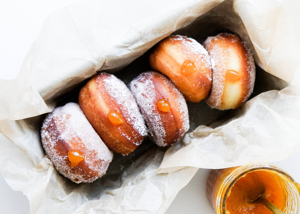 Vanilla Pumpkin Jam Donuts // Eat Cho Food