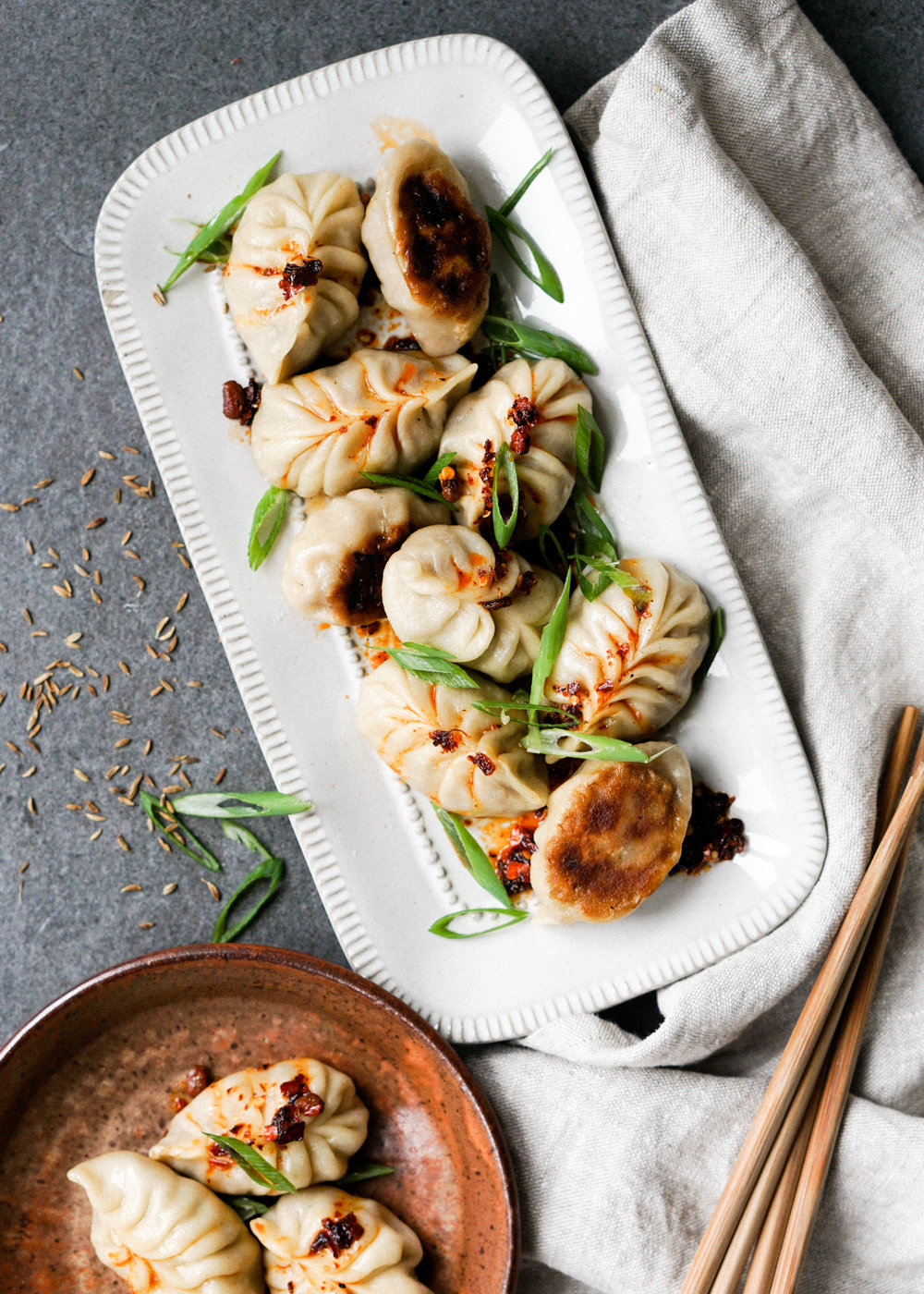 Cumin Lamb Dumplings // Eat Cho Food