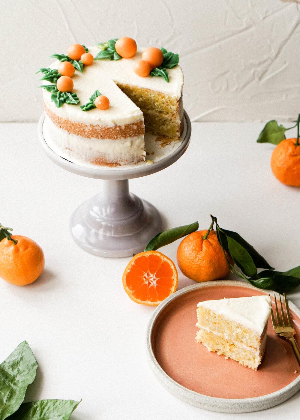 Mini Almond and Satsuma Orange Cake // Eat Cho Food