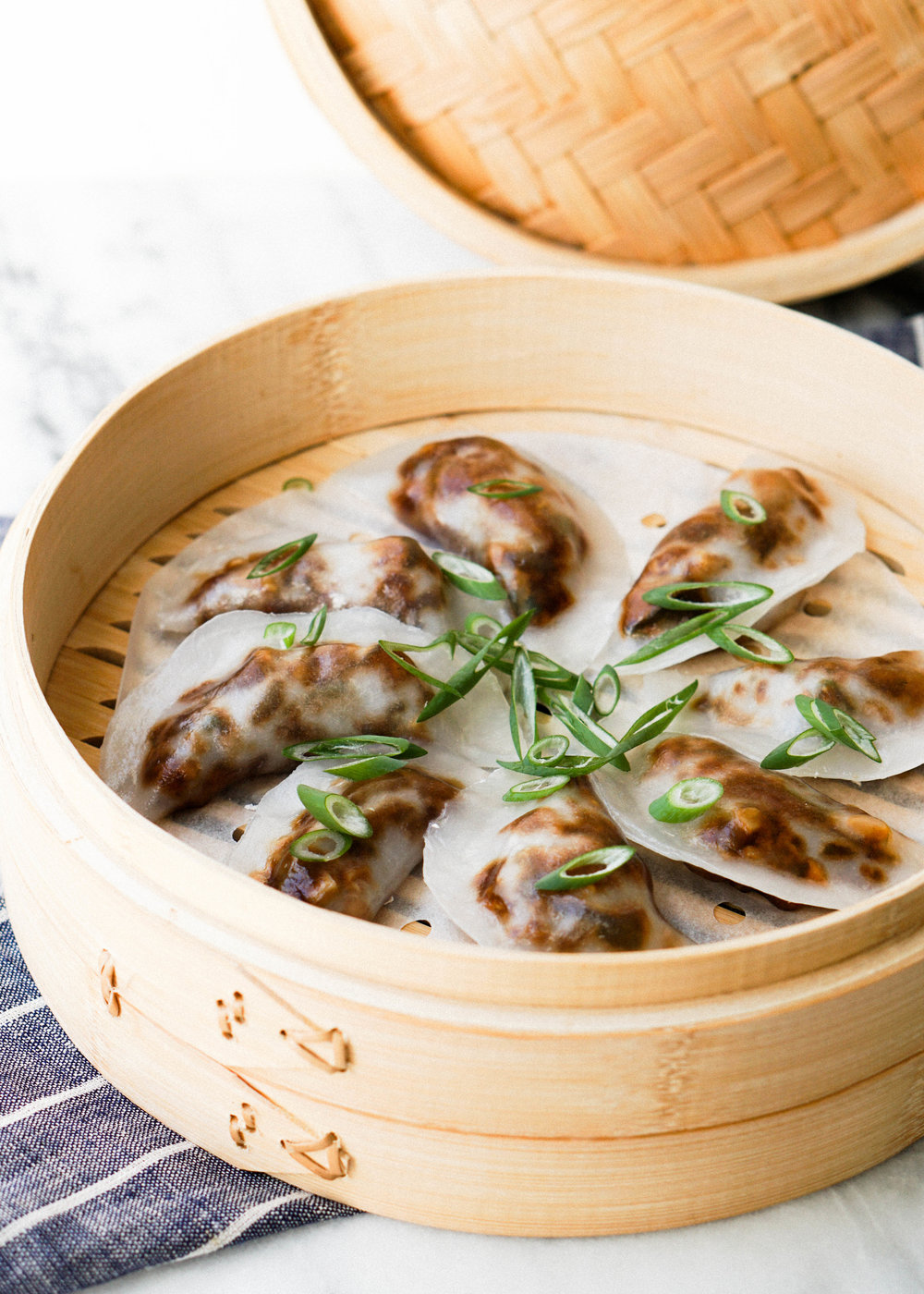 Crystal Mushroom Dumplings // Eat Cho Food