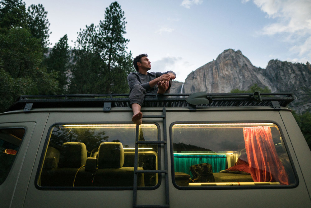 With a Custom Mercedes-Benz Van, Chris Burkard Seeks to Cover New Ground in Adventure Photography - An inside look at Chris Burkard's custom, adventure-ready Mercedes-Benz Sprinter van.