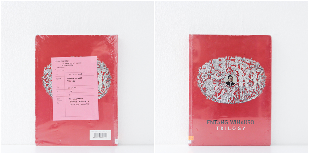 'Entang Wiharso Trilogy', 22/8/15, Debby Lim, 30+, Female