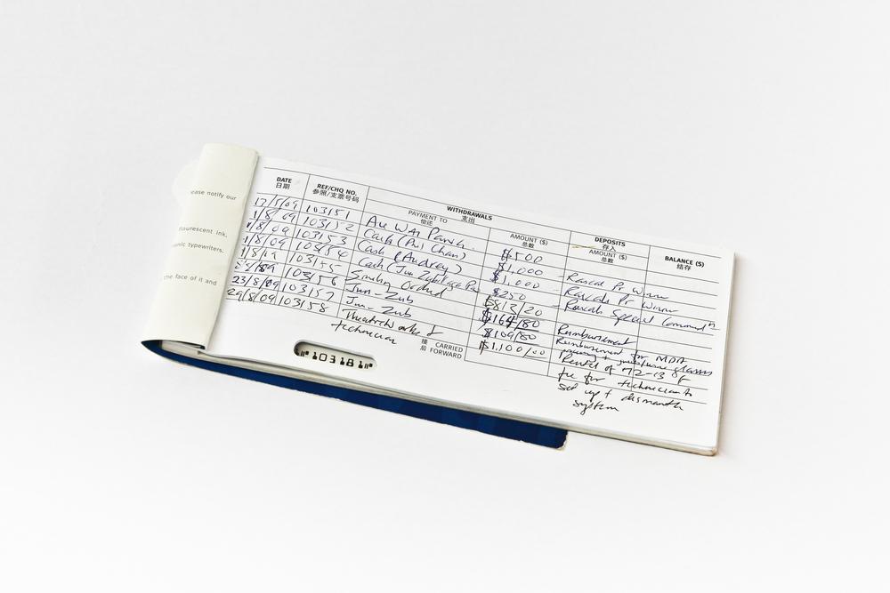 PLU (organisation) chequebook