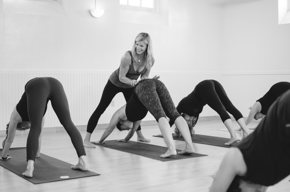 On the Mat Yoga Studio  owner and Down Under Professional 300 Hour graduate, Ramsay is currently studying the Iyengar method in weekly classes with Patricia Walden.