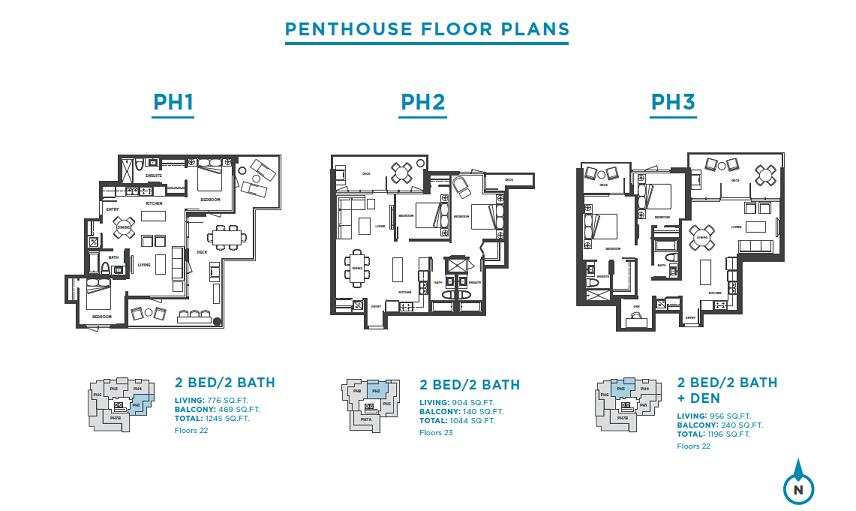 Plans: PH1 / PH2 / PH3
