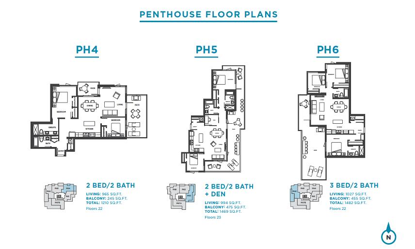 Plans: PH4 / PH5 / PH6