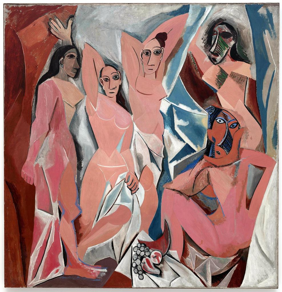 Demoiselles d'Avignon by Pablo Picasso (1907)