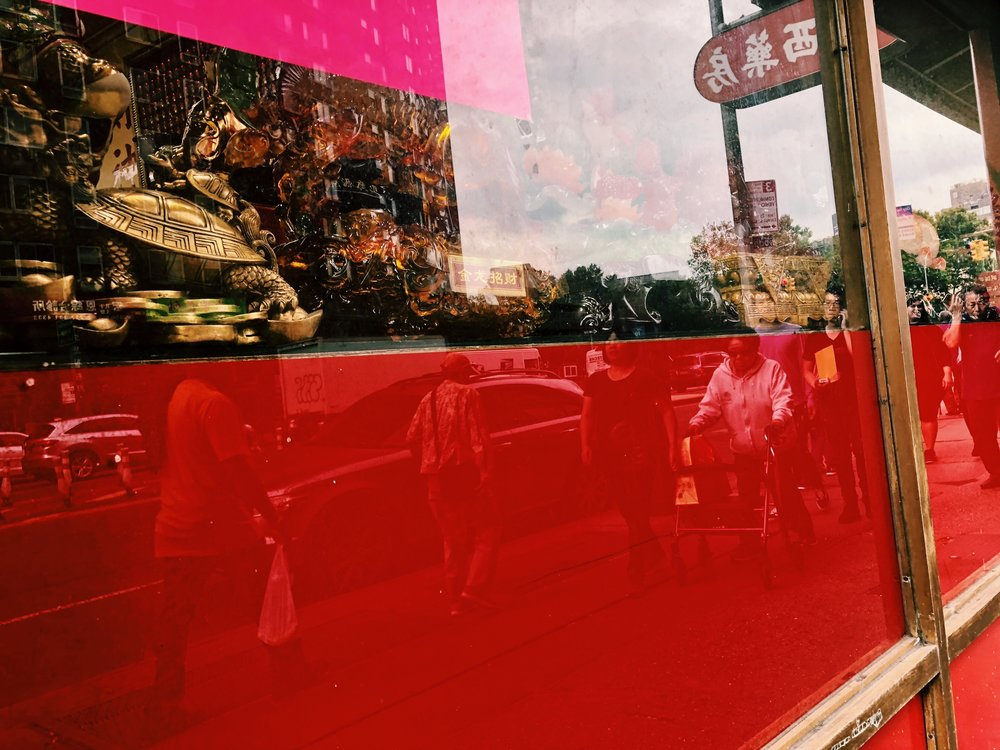 """Storefront Windows"" by Amy Gong Liu"