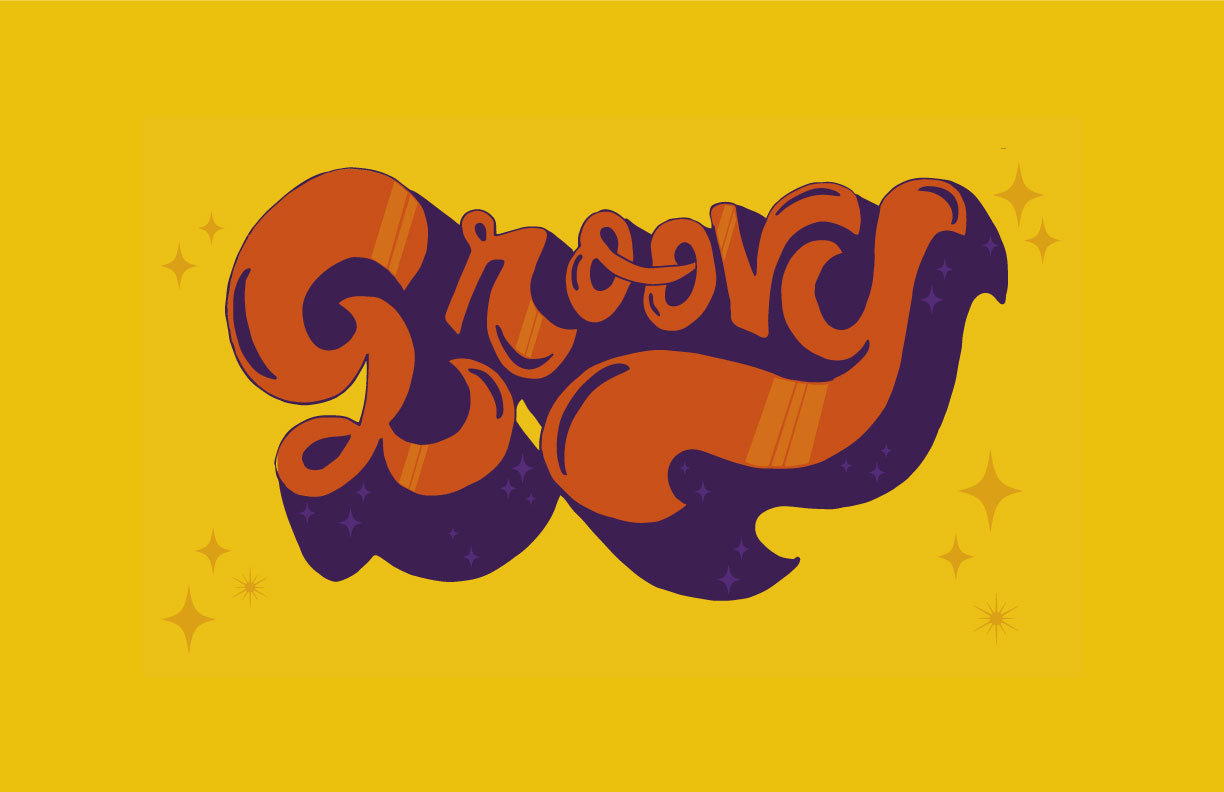 GROOVY | LETTERING — Steph Sch...