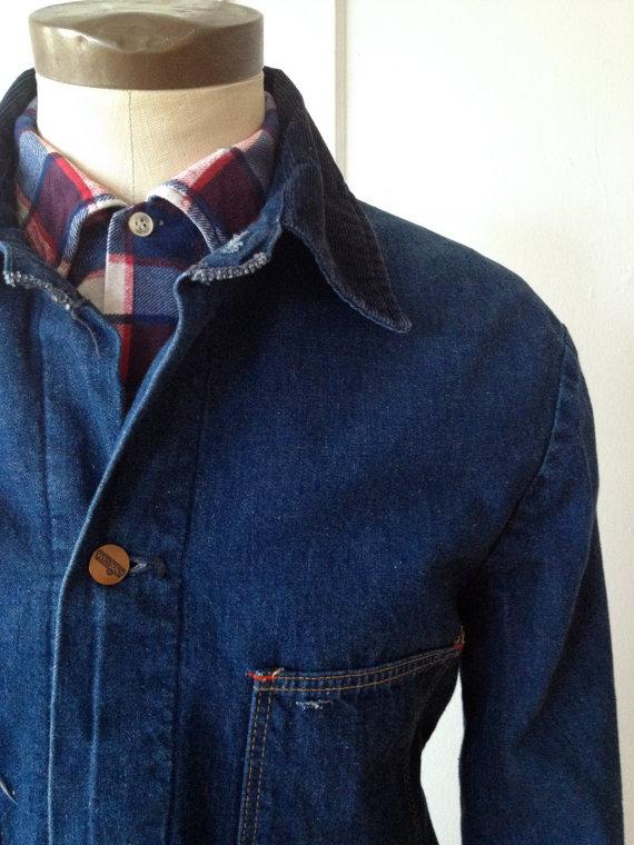 Wrangler Vintage Blanket Lined Chore Coat