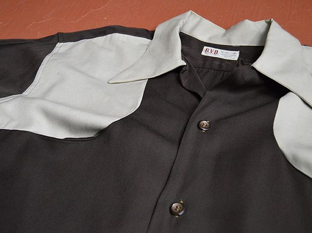 We just got this amazing 2 tone gabardine B.V.D. Brand shirt in. Just in time for @nashville_boogie in a couple of weeks!