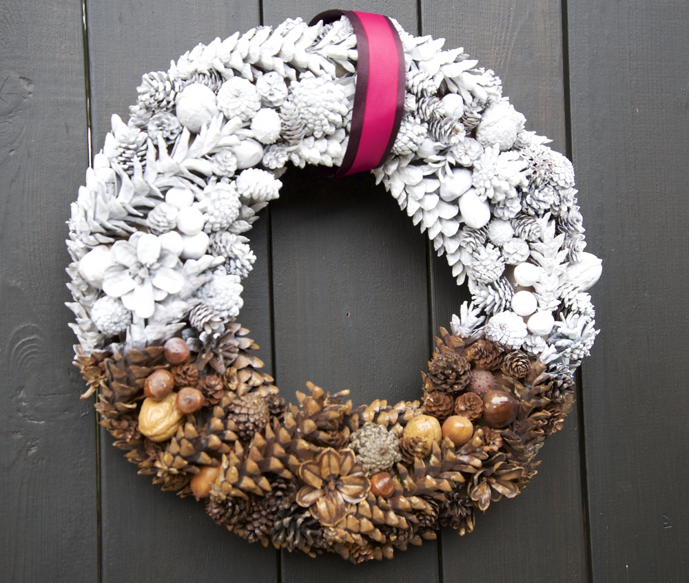 My Grandma's wreath got a DIY makeover from a House & Home tutorial.