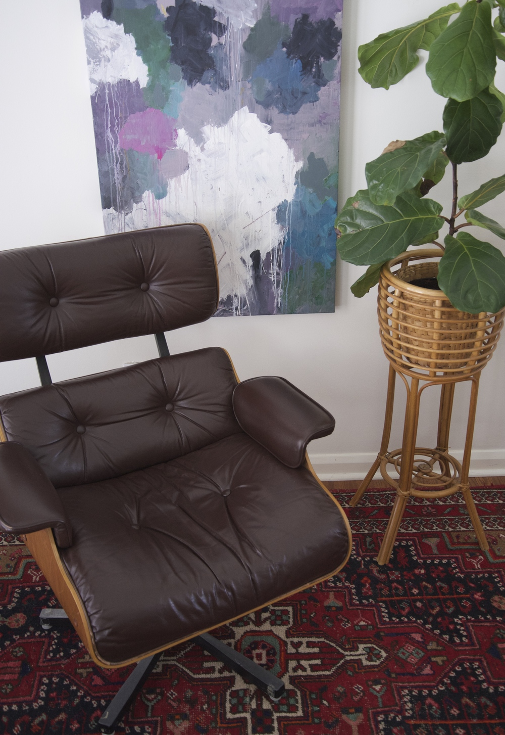 An Eames style replica made in Canada in the 70's