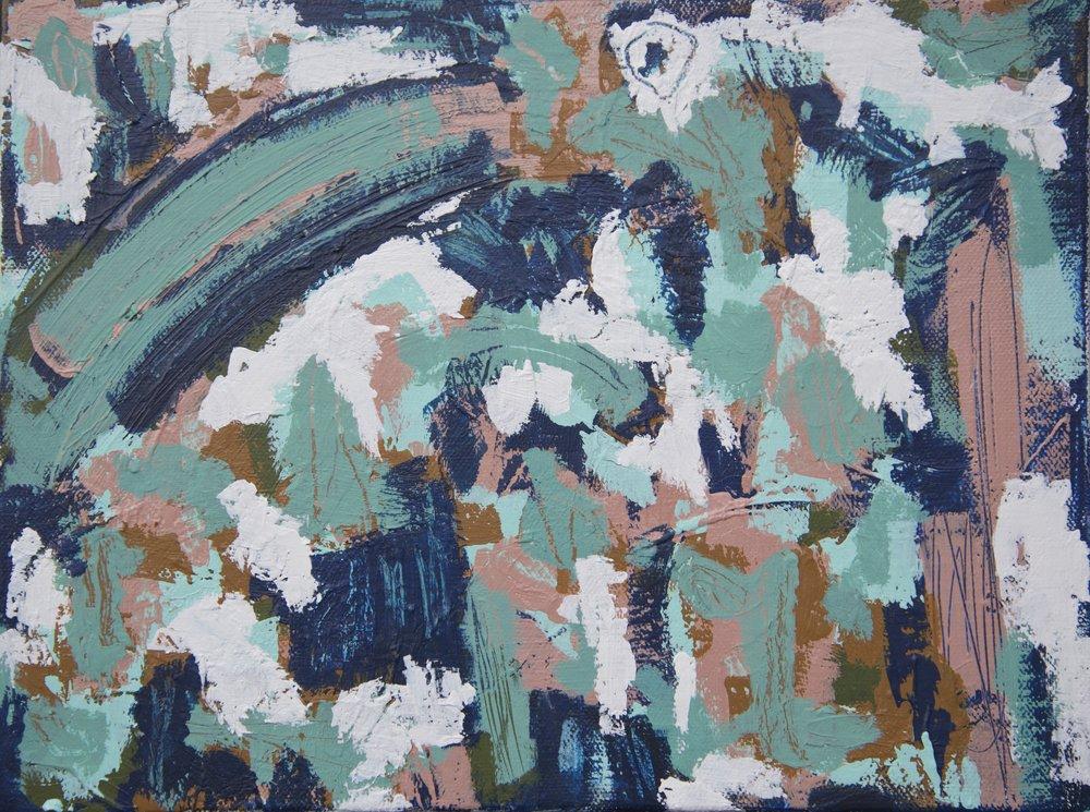 """""""Everlast"""" 9x12 Acrylic on Canvas"""