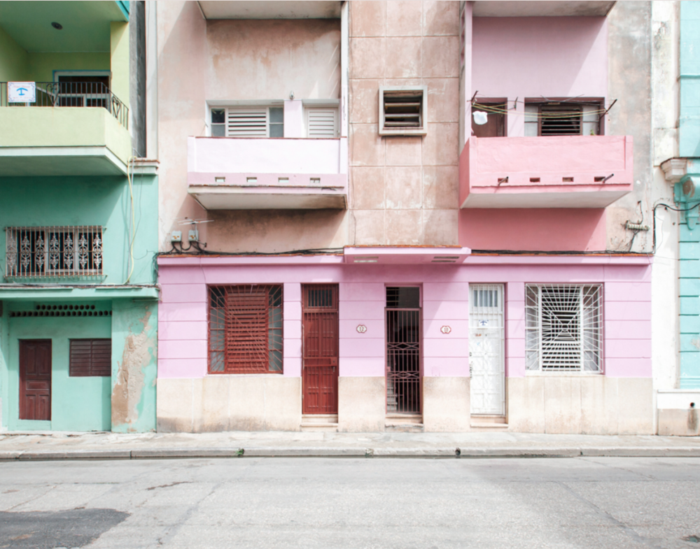 Color Blocking in Cuba by Julie Holder