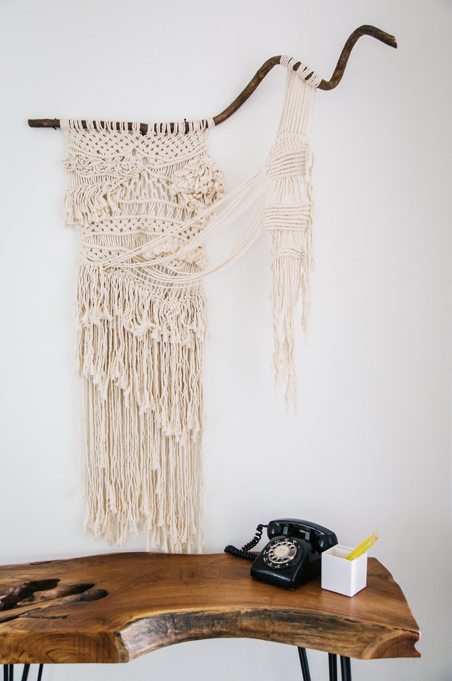 Macrame by  Sticks and Strings