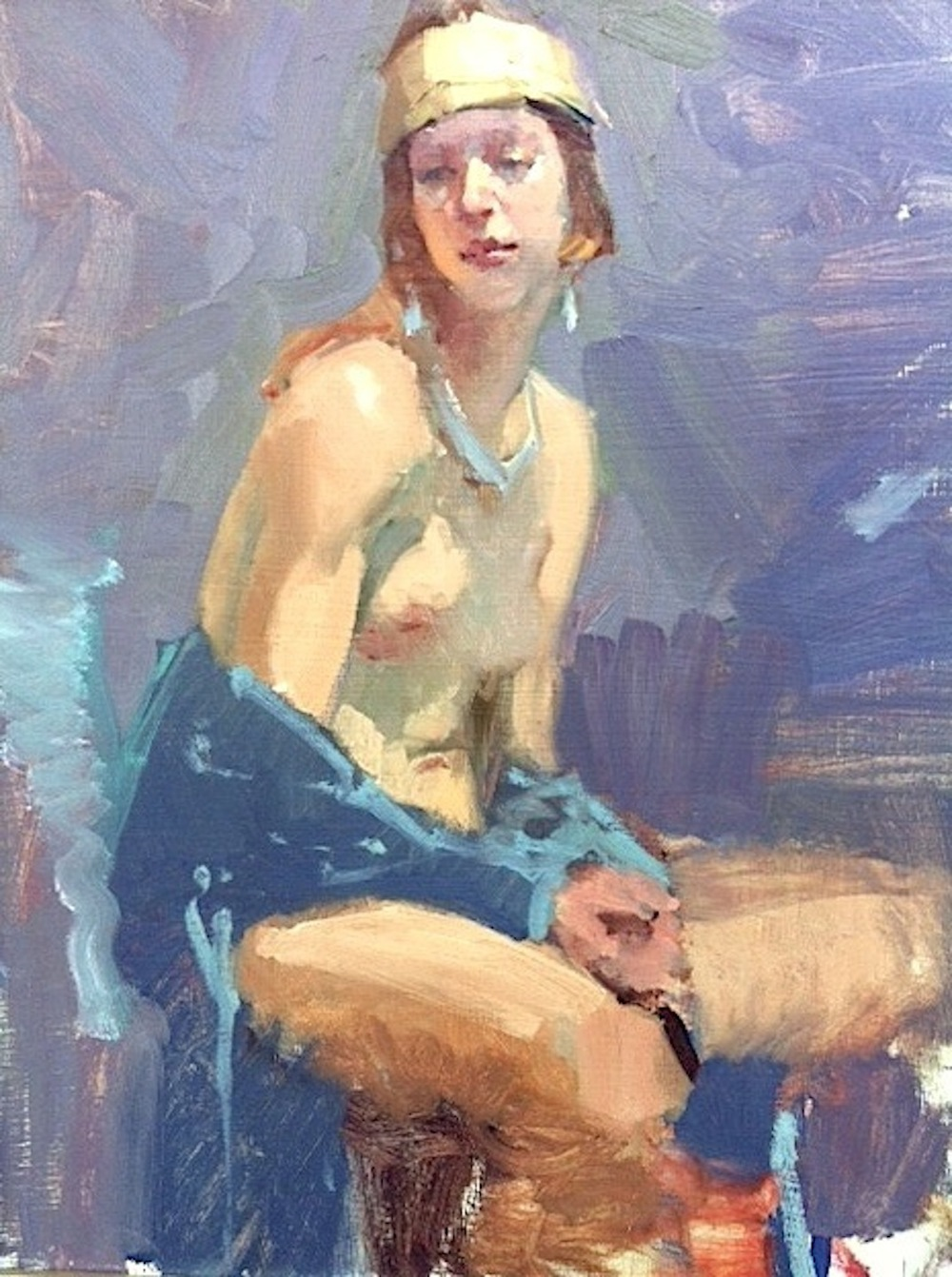 Molly, 20x16, Randy Sexton