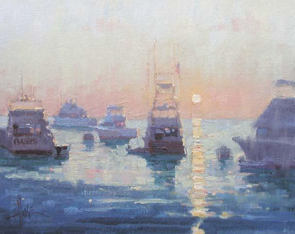 Catalina Sunrise, 8x10